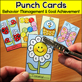 Spring Activities Punch Cards: Butterfly, Caterpillar, Ladybug, Bird, Flower