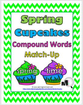 Compound Words - Spring Theme