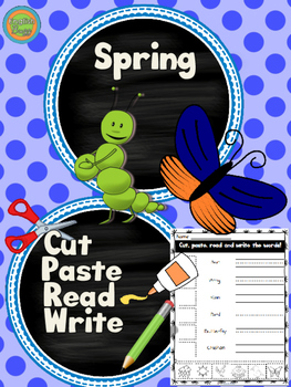 Spring - Cut and Paste