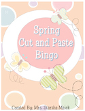 Spring Cut and Paste Bingo