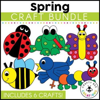 Spring Cut and Paste Set