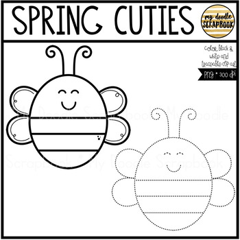 Spring Cuties (Clip Art for Personal & Commercial Use)