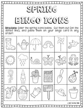 Spring DIY Bingo {DO IT YOURSELF}