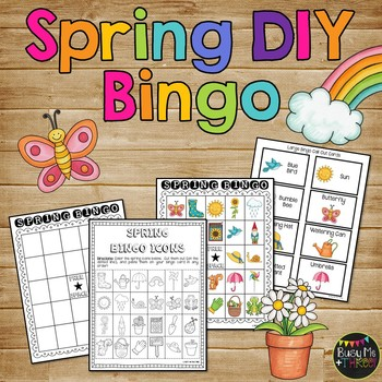 Spring Bingo DIY {DO IT YOURSELF}