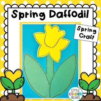 Spring Daffodil Craft with Poems