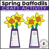 Spring Daffodil Craftivity