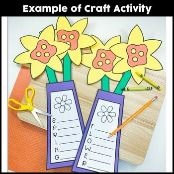 Spring Flower Craft {Spring Daffodil & Acrostic Poems}