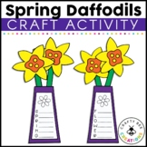 Spring Flower Craft | Daffodil Craft | Acrostic Poems | Spring Writing Activity