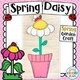 Spring Daisy and Ladybug Craft