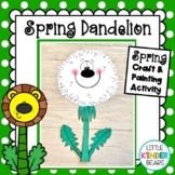 Spring Dandelion Flower Craft and Activities with Poems