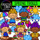 Spring Clipart Mega Bundle ($24.00 Value) {Creative Clips Clipart}