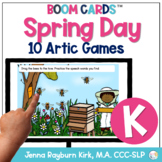 Spring Day: K Sound BOOM Cards™️  for Distance Learning Sp