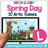 Spring Day: L Sound BOOM Cards™️  for Distance Learning Sp