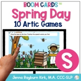 Spring Day: S Sound BOOM Cards™️  for Distance Learning Sp