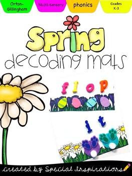Spring Decoding and Blending Mats