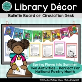 Spring Decor | Summer Decor | Bulletin Board Banner with Poetry Writing Activity