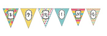 Spring Decorations-Classroom Banner