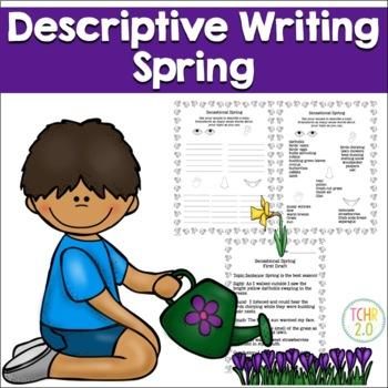 Spring Descriptive Writing Paragraph