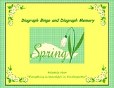 Spring Diagraph Bingo and Spring Diagraph Memory!