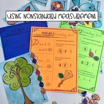 Spring Differentiated Math Center Activities