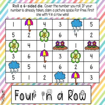 Spring Differentiated Math Centers Games!
