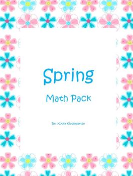 Spring Differentiated  Math Pack