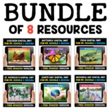 Spring Digital Activities for Google and Seesaw Bundle