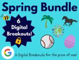 Spring Digital Breakout Bundle: (Break, Derby, Baseball, E
