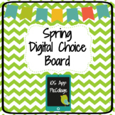 Spring Digital Choice Board| Pic Collage App