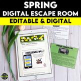 Spring Digital Escape Room | Distance Learning