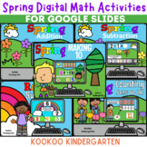 Spring Digital Math Activities for Primary Grades