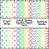 Sweet Spring Digital Paper Pack