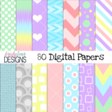 Spring Digital Papers