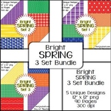 Spring Digital Papers - Brights BUNDLE
