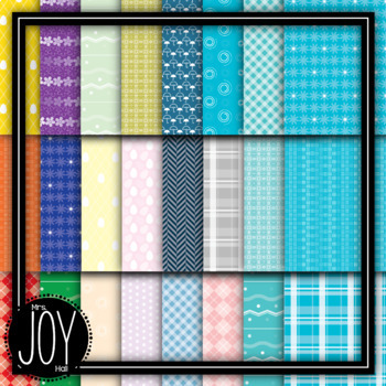 Spring Digital Papers - Entire Spring Collection BUNDLE - 15 Sets