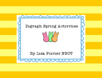 Spring Digraph Activities