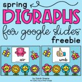 Spring Digraphs for Google Slides™ (freebie)