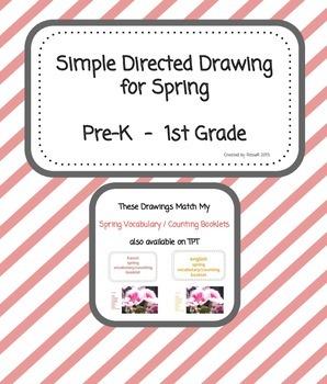 Spring Directed Drawing  FREEBIE