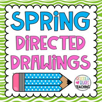 Spring Directed Drawing Activities