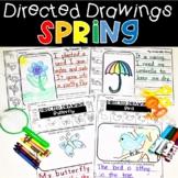 Spring Directed Drawings Bee Bird Butterfly Flower Ladybug Nest Umbrella