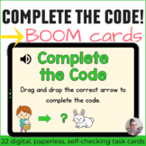 Spring Directional Coding Activities Digital Task Cards with Boom Cards