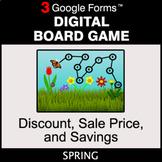 Spring: Discount, Sale Price, Savings - Digital Board Game