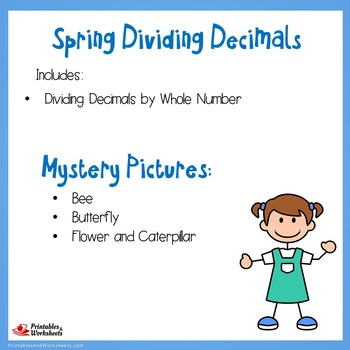 Spring Dividing Decimals by Whole Numbers