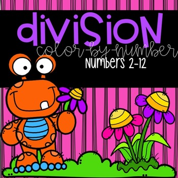 Spring Division 2-12 Color-By-Number