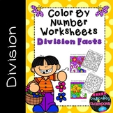 Printable Division Facts Color By Number  May Morning Work