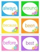 Spring Dolch Sight Word Flashcards - Second Grade
