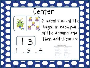 Spring Domino Addition Center