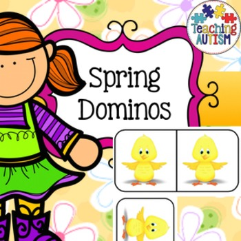 Spring Dominos Activity