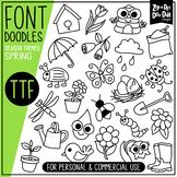 Spring Doodle Font {Zip-A-Dee-Doo-Dah Designs}