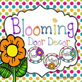 Free Door Decor: Spring